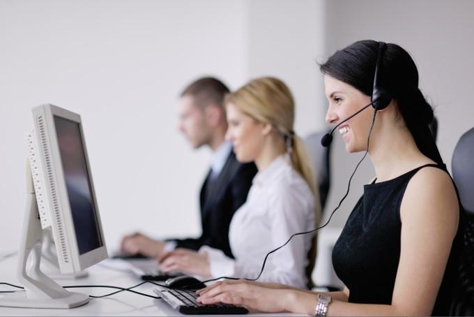 telephone-sales-team